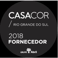 Selo Casa e Cor Fornecedor 2018 - Grupo Abril