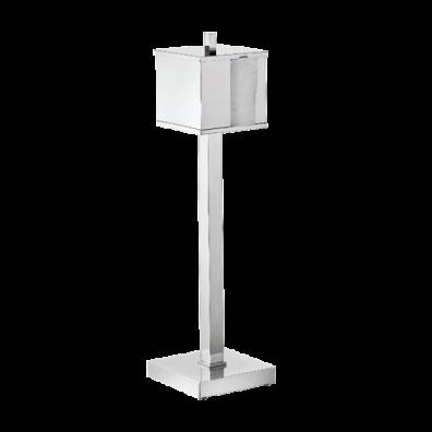 Papeleira de Piso  Quadrada C/ Pedestal