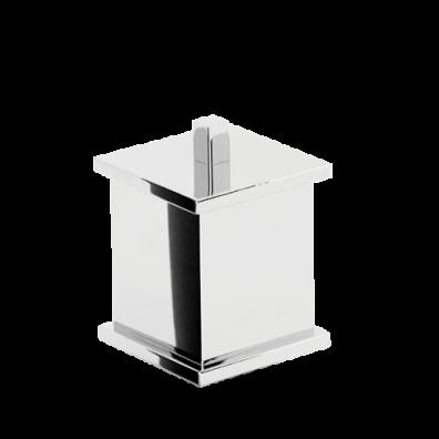 Porta Cotonete Quadrado