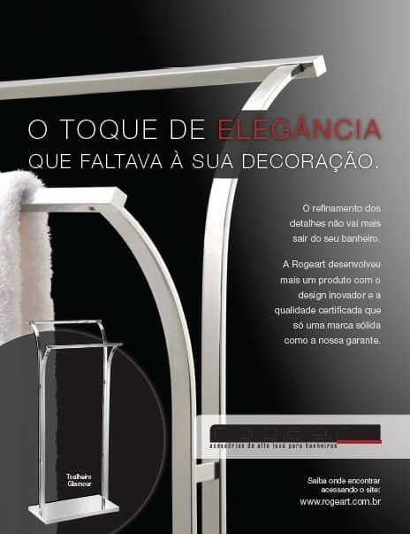 Imagem do produto Rogeart na revista Casa Claudia Luxo